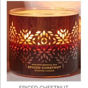 B&BW's Spiced Chestnut 3 Wick Candle